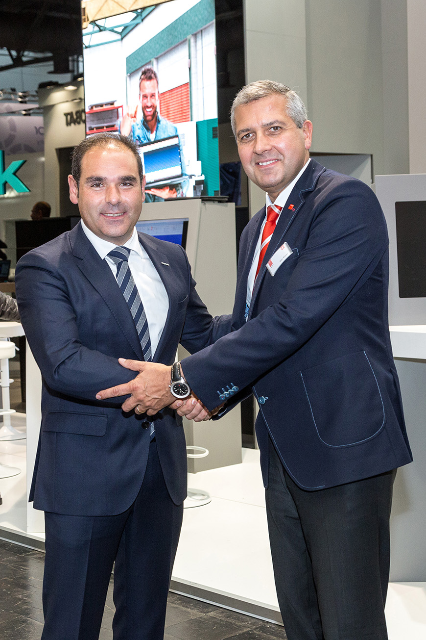 Lantek and Bystronic kick off their partnership at EuroBLECH